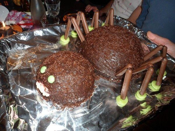 Halloween : gâteau