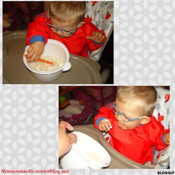 Découverte de la farine et de l'eau
