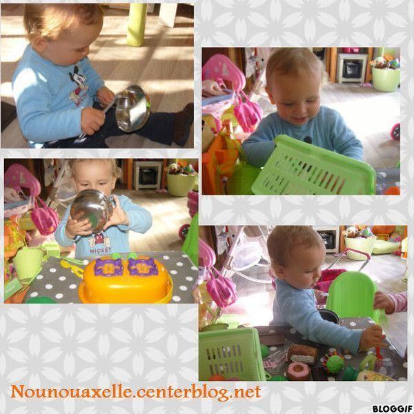 Tristan adore la dinette