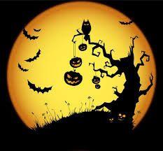Blog en pause Préparatif fête d'Halloween