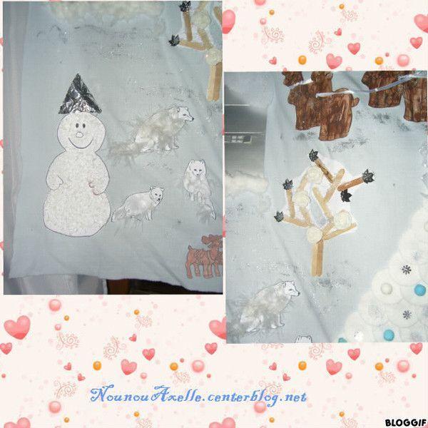 Fresque de Noël