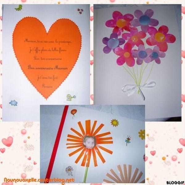 Carte Danniversaire Pour Une Maman Centerblog