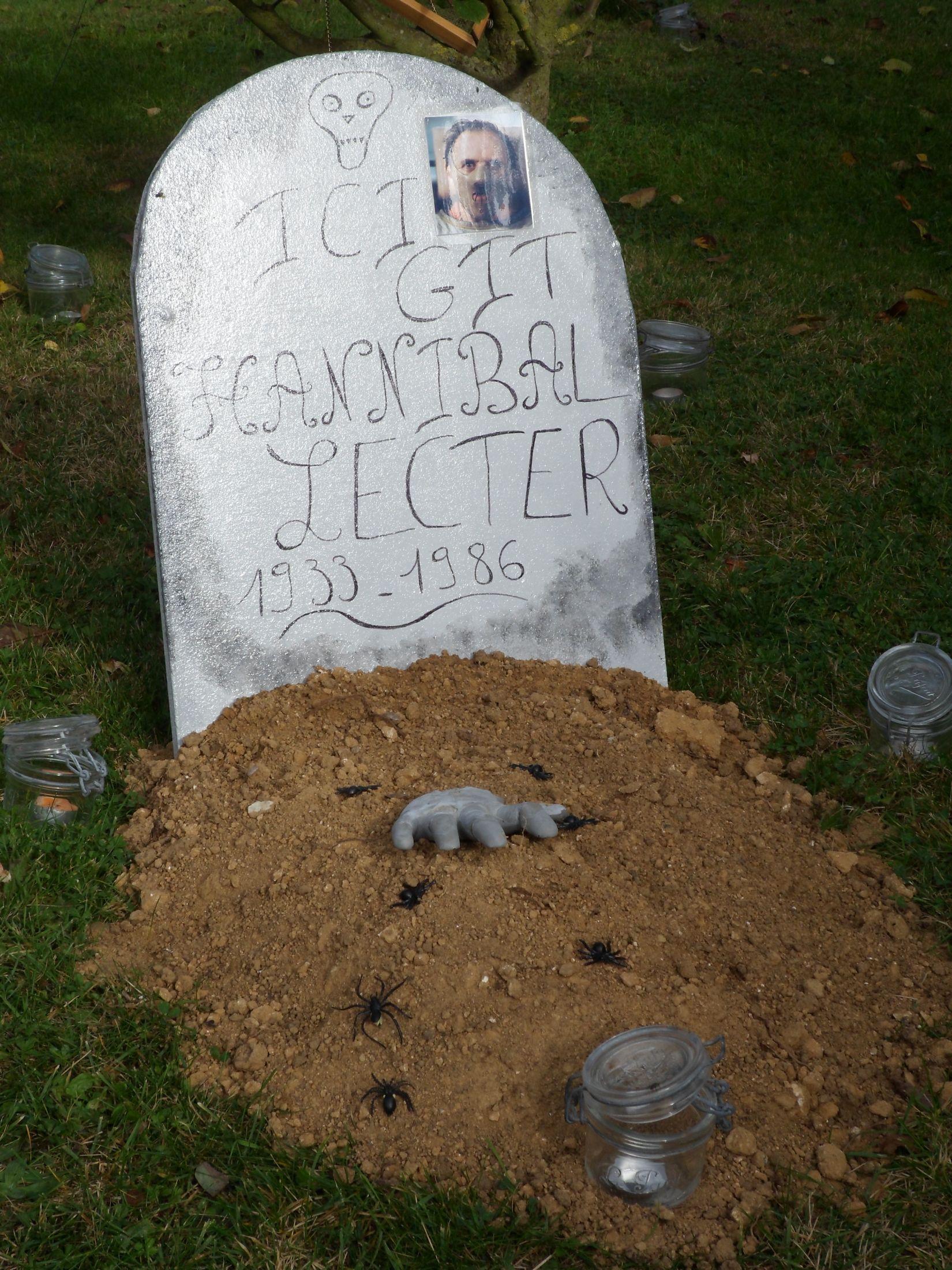 Halloween Tombe