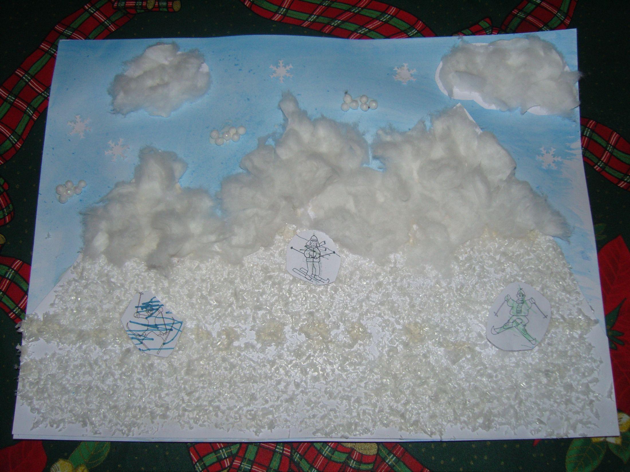 Activites manuelles hiver page 2 - Activite manuelle maternelle hiver ...