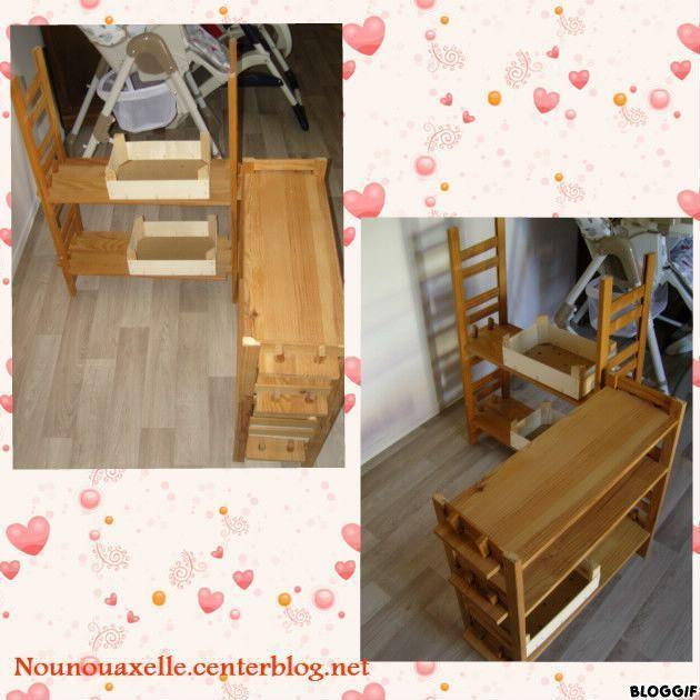 fabrication une marchande en bois. Black Bedroom Furniture Sets. Home Design Ideas