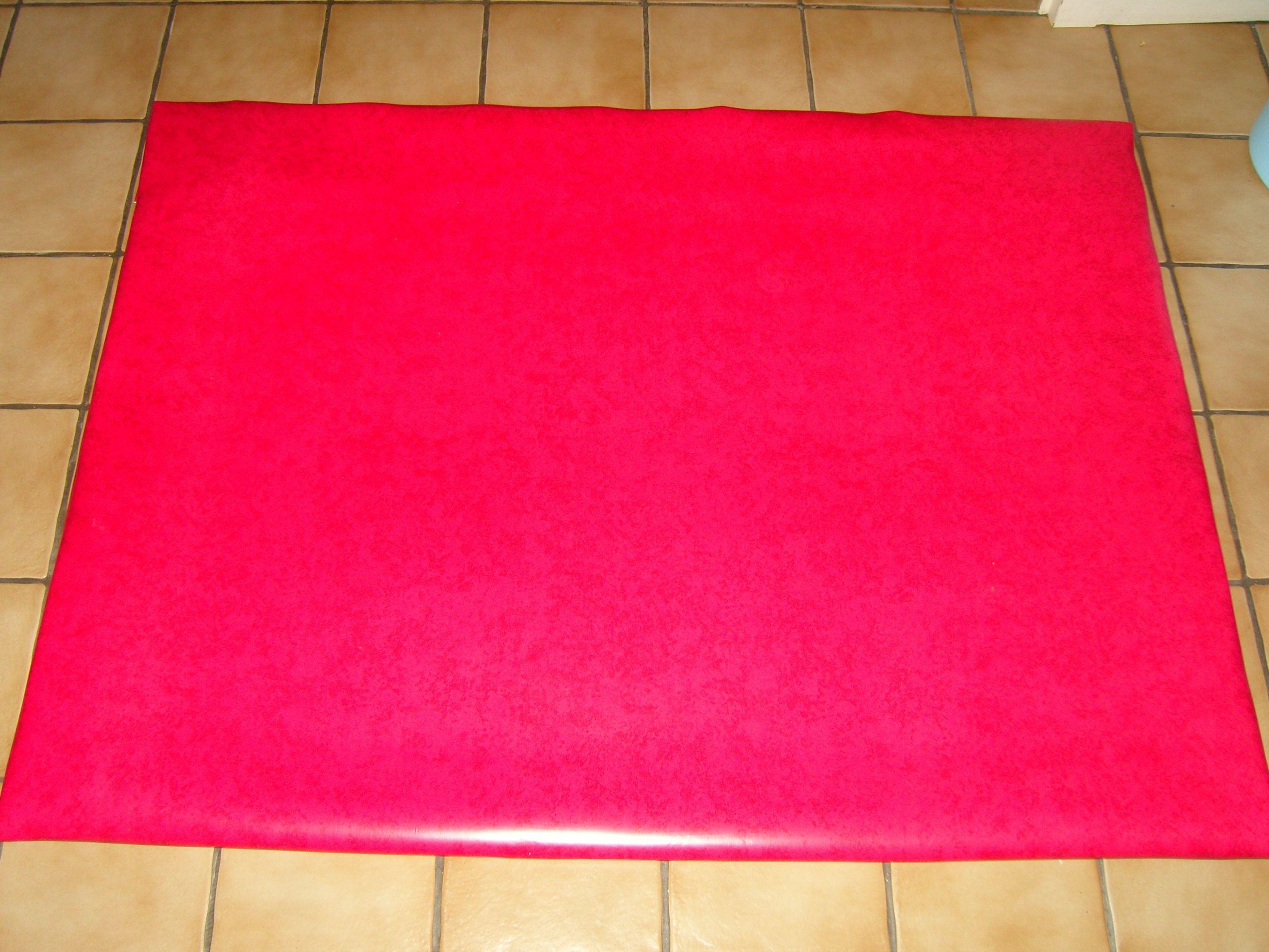 Nouvelles de mon tapis de gym fabrication maison - Toile antiderapante pour tapis ...